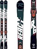 Rossignol React 6 Compact Xpress 11 Gw Esquís con fijación, Adultos Unisex, Negro,...