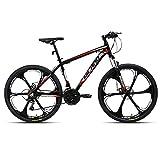 AL132621_BK-jio.Hiland Bicicleta de montaña 26 pulgadas MTB aluminio con cuadro de...