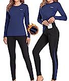 Ropa Interior Térmica Mujer, Camiseta Térmica Mujer Deportes Ropa Interior...
